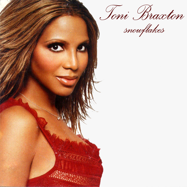 Original Cover Artwork of Toni Braxton Snowflakes