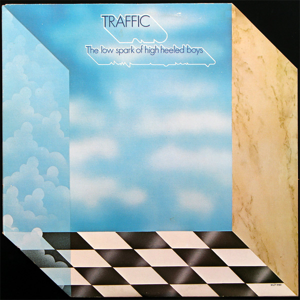 Original Cover Artwork of Traffic Low Spark High Heel Boys