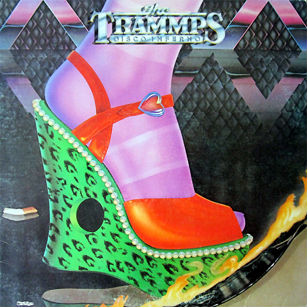 Original Cover Artwork of Trammps Disco Inferno