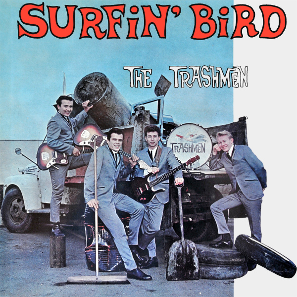 Original Cover Artwork of Trashmen Surfin Bird