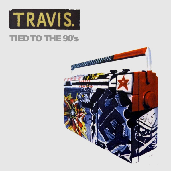 Original Cover Artwork of Travis Tied To The 90s