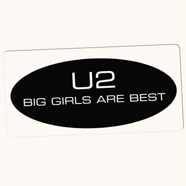 Original Cover Artwork of U2 Big Girls Are Best