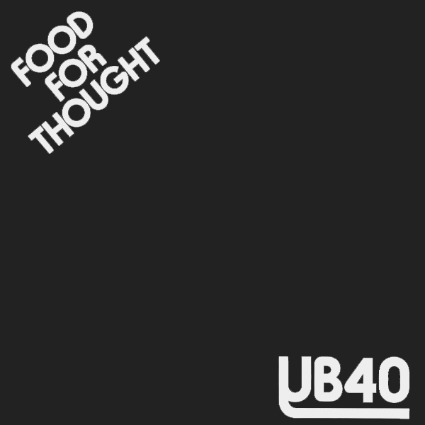 Original Cover Artwork of Ub40 Food For Thought
