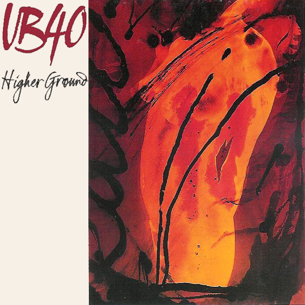 Original Cover Artwork of Ub40 Higher Ground