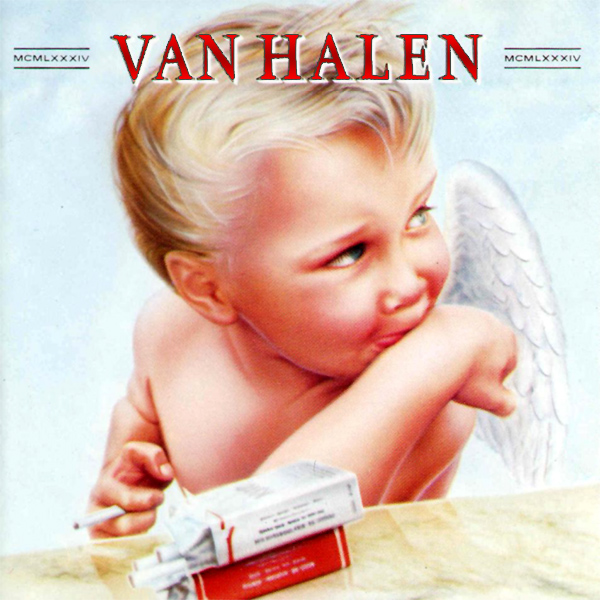 Original Cover Artwork of Van Halen 1984