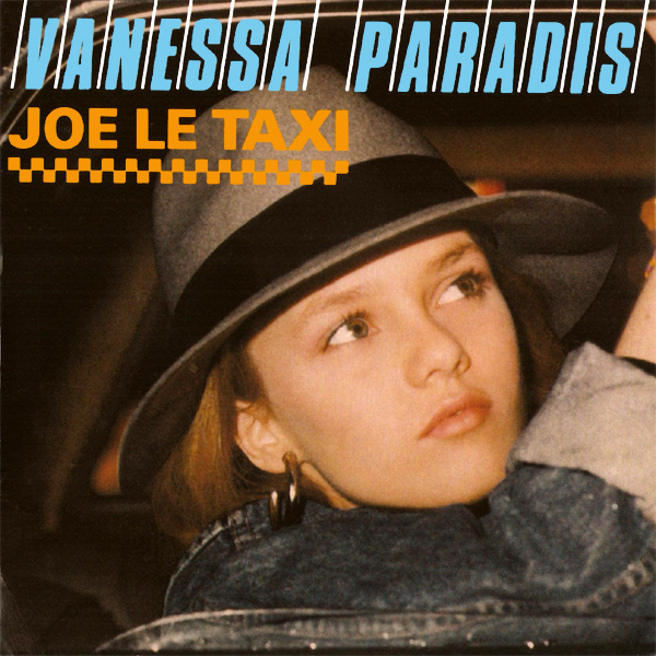 Original Cover Artwork of Vanessa Paradis Joe Le Taxi