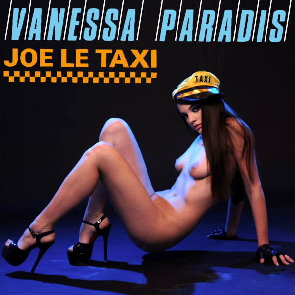 Cover Artwork Remix of Vanessa Paradis Joe Le Taxi