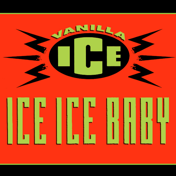 Original Cover Artwork of Vanilla Ice 3x Baby