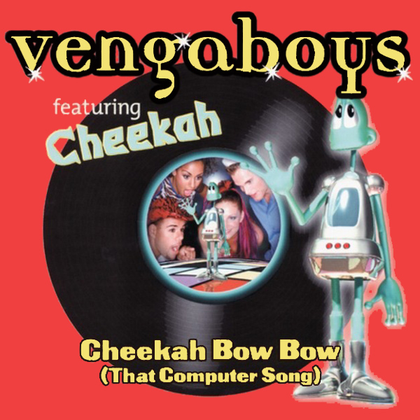 Original Cover Artwork of Vengaboys That Computer Song