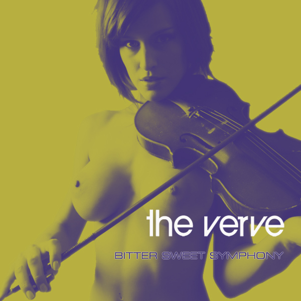 Cover Artwork Remix of Verve Bitter Sweet Symphony