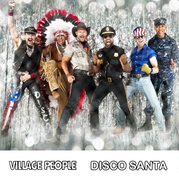 village people disco santa 1