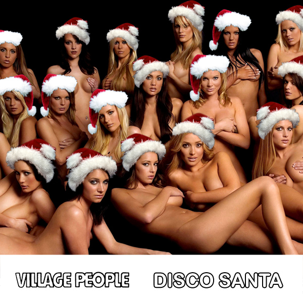 village people disco santa 2