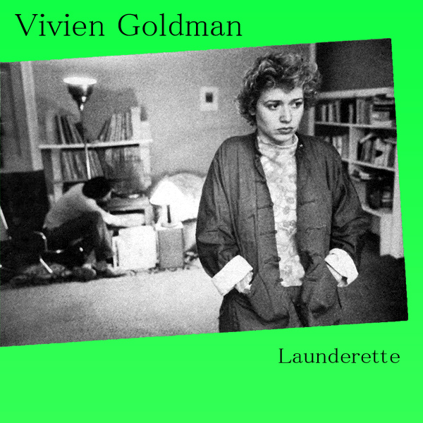 Original Cover Artwork of Vivien Goldman Launderette