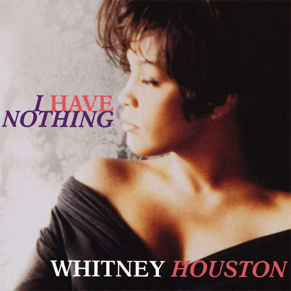 Original Cover Artwork of Whitney Houston I Have Nothing