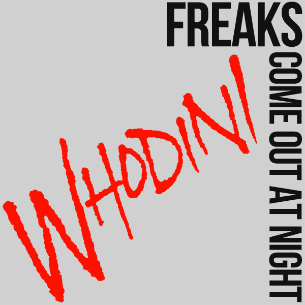Original Cover Artwork of Whodini Freaks Come Out At Night