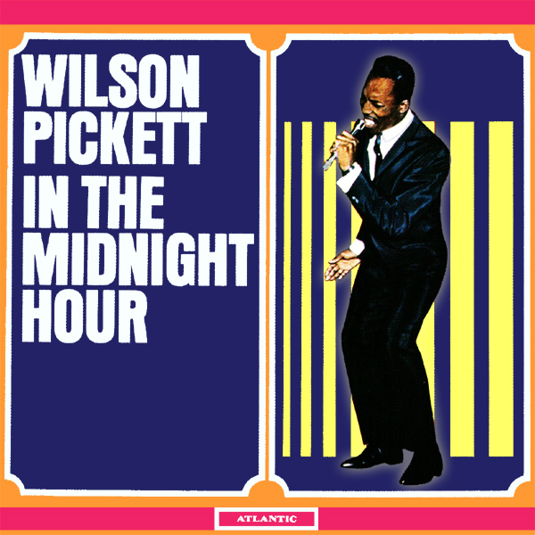 Original Cover Artwork of Wilson Pickett Midnight Hour