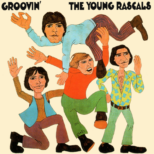 Original Cover Artwork of Young Rascals Groovin